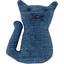Petite barrette chat jean fin - PPMC
