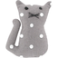 Small cat hair slide light grey spots - PPMC