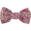 Small bow hair slide plum lichen - PPMC