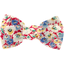 Small bow hair slide carnations jeans - PPMC