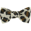 Small bow hair slide leopard print - PPMC