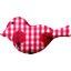 Bird hair slide ladybird gingham