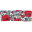 Small pleated hair slide poppy - PPMC