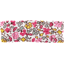 Small pleated hair slide pink jasmine - PPMC