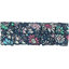 Small pleated hair slide green azure flower - PPMC