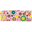 Small pleated hair slide pink meadow - PPMC