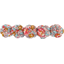 Japan flower hair slide-large size peach flower - PPMC