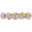 Japan flower hair slide-large size pastel drops - PPMC