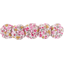 Japan flower hair slide-large size pink jasmine - PPMC