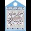 Pasadores clip 2 listones astillas fosforescente - PPMC