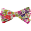 Ribbon bow hair slide purple meadow - PPMC