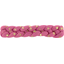 Plait hair slide etoile or fuchsia - PPMC