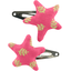 Star hair-clips feuillage or rose - PPMC