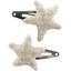 Star hair-clips   - PPMC