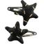 Star hair-clips golden straw - PPMC