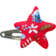 Star hair-clips cherry cornflower - PPMC