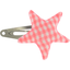 Star hair-clips vichy peps