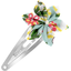 Barrette clic-clac fleur étoile baie mentholée - PPMC