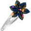 Star flower hairclip glittering heart - PPMC