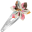 Star flower hairclip watercolor confetti - PPMC