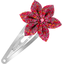 Star flower hairclip currant crocus - PPMC
