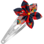 Star flower hairclip vermilion foliage - PPMC