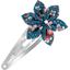 Star flower hairclip fleuri nude ardoise - PPMC