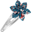 Passador clic clac flor estrella fleuri nude ardoise - PPMC