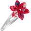 Barrette clic-clac fleur étoile hanami - PPMC
