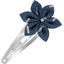 Passador clic clac flor estrella jeans de paja plateados - PPMC