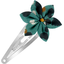 Star flower hairclip jade panther
