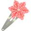 Barrette clic-clac fleur étoile vichy peps - PPMC