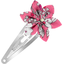 Star flower hairclip pink violette - PPMC