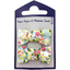 Small bows hair clips menthol berry - PPMC