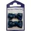 Pasador clic-clac lazos bulle bronze marine - PPMC