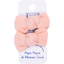 Small bows hair clips gauze pink - PPMC