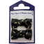 Small bows hair clips golden straw - PPMC