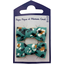 Small bows hair clips jade panther - PPMC