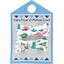 Barrette clic-clac mini ruban contes et légendes - PPMC