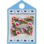 Barrette clic-clac mini ruban palmette - PPMC
