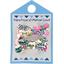 Barrette clic-clac mini ruban printanier - PPMC