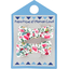 Pasadores clip 2 listones rosario - PPMC