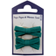 Small ribbons hair clips emerald green - PPMC