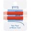 Petite barrette croco rouge tangerine cr041 - PPMC