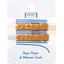 Petite barrette croco paille doré caramel cr042