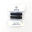 Petite barrette croco noir pailleté cr045 - PPMC