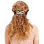 Arabesque bow hair slide sea side