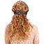 Arabesque bow hair slide parts blue night