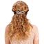 Arabesque bow hair slide rosary