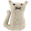 Small cat hair slide  glitter linen - PPMC